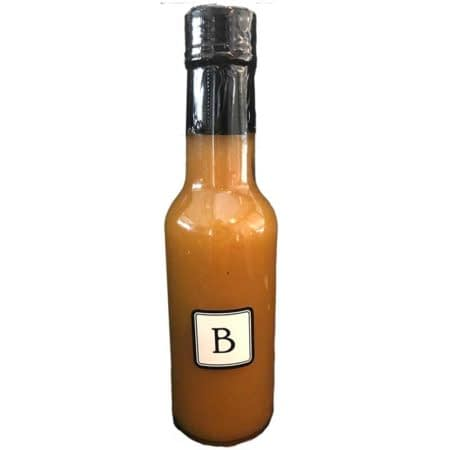 The Butchery Peach Poblano Hot Sauce