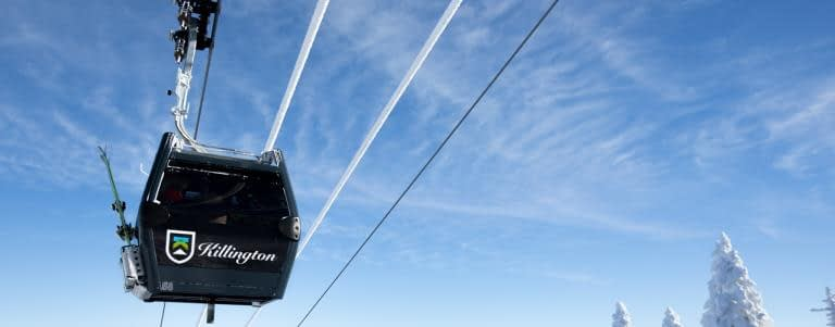 KIllington Mountain Resort Gondola